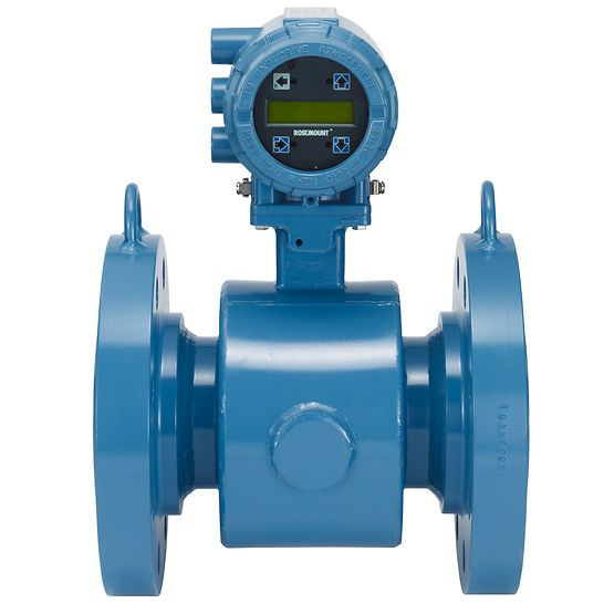 Rosemount™ 8705 Flanged Magnetic Flow Meter Sensors
