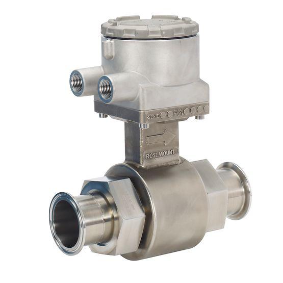 Rosemount 8721 Hygienic Magnetic Flow Meter Sensors