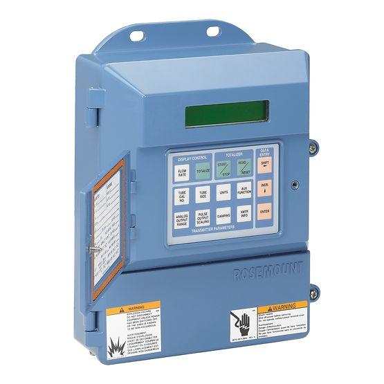 Rosemount 8712H Slurry Magnetic Flow Meter Transmitters