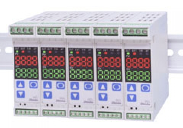 DCL-33A series, DIN Rail Mounted Indicating Controllers