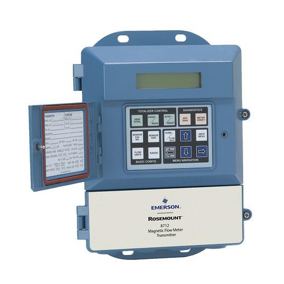 Thiết bị đo lưu lượng điện từ ( gắn tường) - Rosemount 8712E