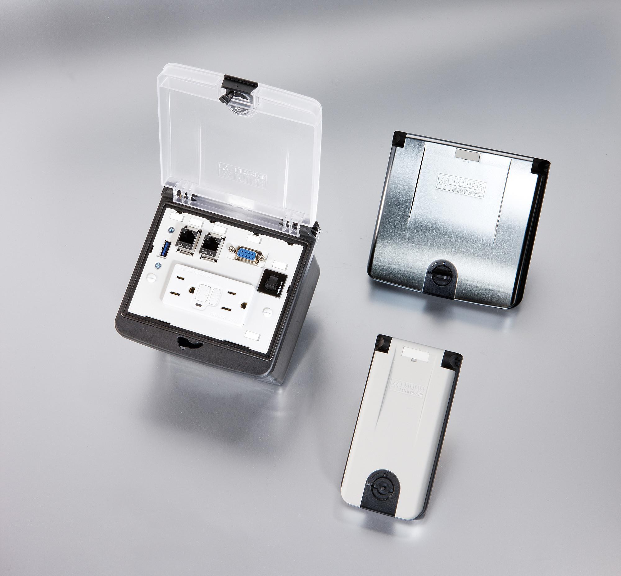 Modlink MSDD | Giao diện trước mặt tủ
